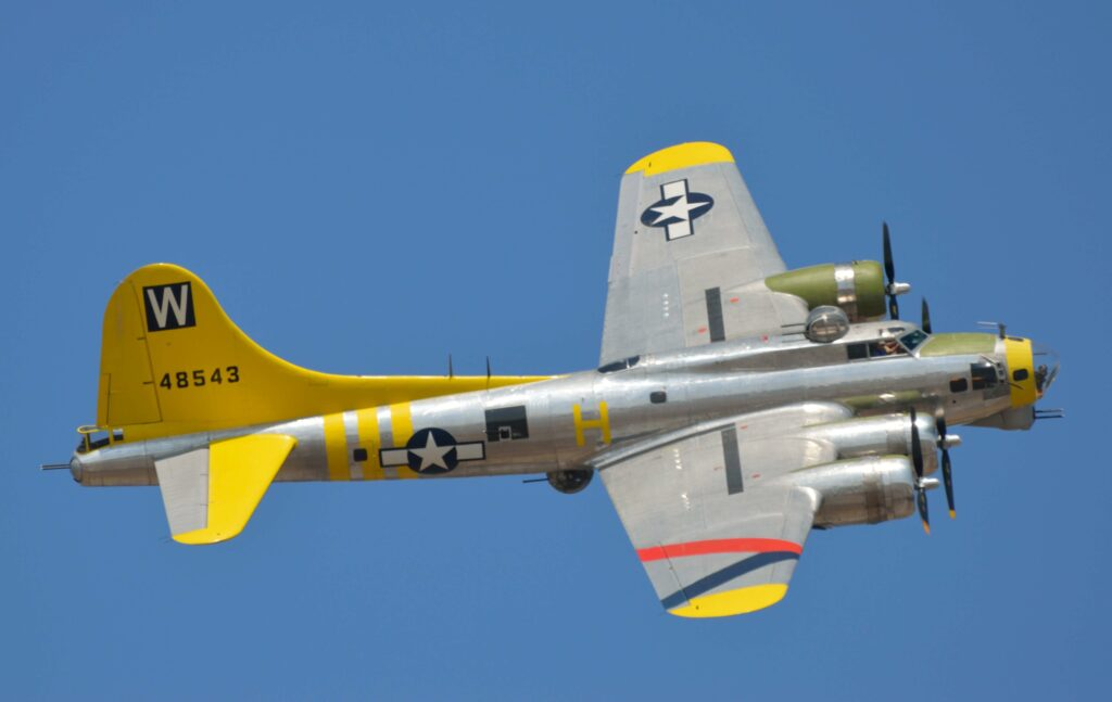Boeing B-17 Flying Fortress at TICO Warbird 2013 Airshow.