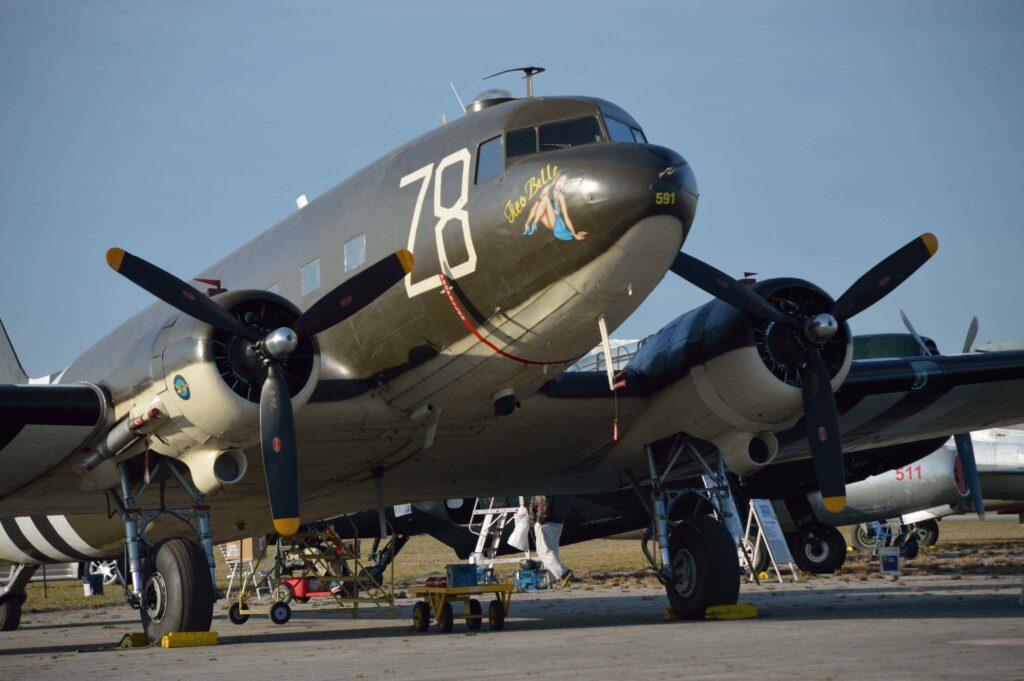 """Valiant Air Command's C-47 """"Tico Belle."""""""