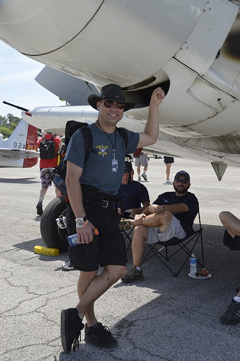 Thom Richard, Reno Air Race pilot of P-51 Precious Metal.