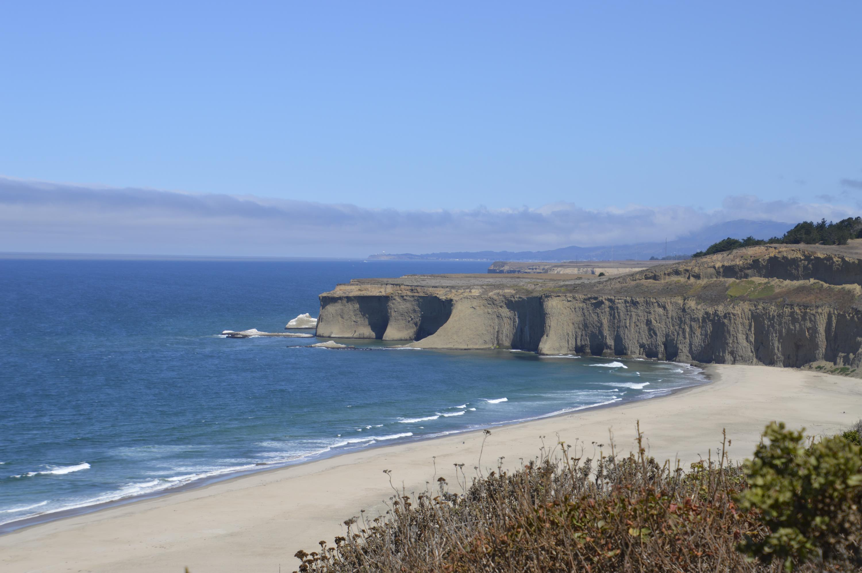 Northern California Sea Cliffs along US 1.